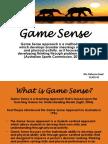 game sense presentation 17718527 rebecca saad
