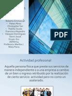 Actividades profesionales.pptx