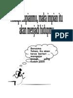Cover Buku Acara Retret'14