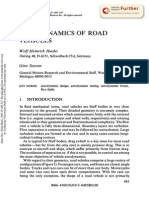 Aerodynamics of Road Vehicles