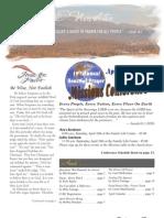 April Newsletter And Calendar