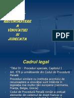 ACORDUL DE RECUNOAŞTERE A VINOVĂŢIEI ŞI JUDECATA apr.2011.ppt