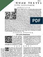 CT [1637 Ed.] t1 - 01 - Ad Summam Textus 1