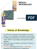 Lecture 18 - Introduction in Medical Microbiology
