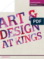 Kings ArtAndDesignBrochure 2014-15
