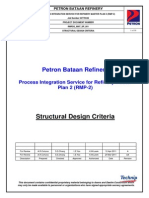 RMP2G 0007 SP 001 Structural Design Criteria Rev a 20110412