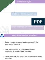 1 Protein Analysis
