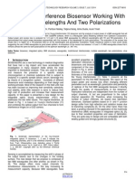 Multimode Interference Biosensor Working With Multiple Wavelengths and Two Polarizations