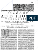 CT [1654 Ed.] t1 - 05 - Isagoge Ad D. Thomae Theologiam