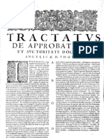 CT [1654 Ed.] t1 - 06 - Tractatus de Approbatione Et Auctoritate Doctrinae Angelicae D. Thomae