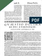 CT [1654 Ed.] t1 - 15 - Quaestio 10, De Dei Aeternitate