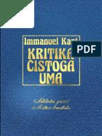 Kritika Cistoga Uma - Immanuel Kant
