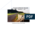 Lessons in Electric Circuits, Volume I
