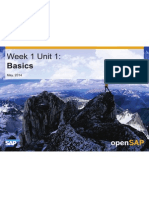 Intro to SAPHANA Cloud