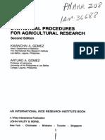 Gomez. Statistical procedures agriculltural.pdf