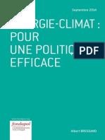 Albert Bressand - Energie-Climat