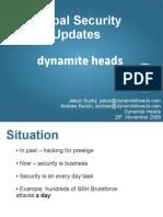 Drupal Security Updates