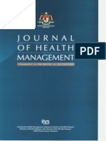 Journal of Health Management 01122012 Vol 10 No.2 2012