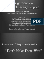 assignment 2 - research design report