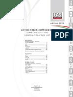 PriceList Composition 2014