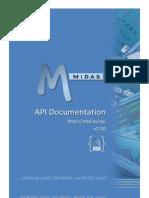 MIDAS API Documentation v2.00