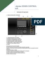 Instruções de operação  ESSER CONTROL da Honeywell.pdf