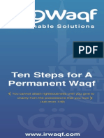 10 StepWaqf Booklet English Final1
