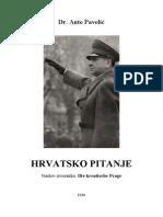 Dr Ante Pavelic - Hrvatsko Pitanje