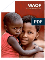 Waqf Annual Report - 2008