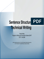4  sentence structure