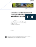 Guidelines Environment Management of Aquaculture Investments in Vietnam