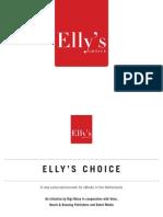 Présentation de Elly's Choice par Genevieve Waldman