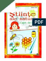 Stiinte Ale Naturii - Caiet de Lucru - Clasa a IV-A