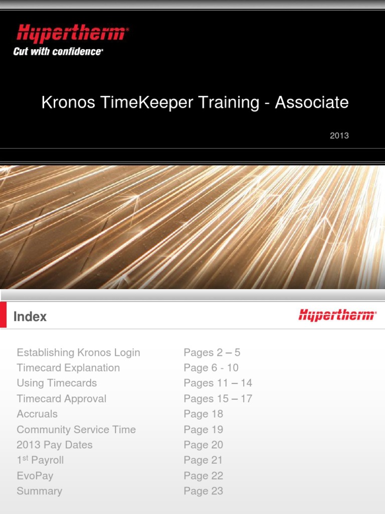 kronos associate training | Payroll | User (Computing)