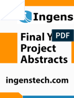 IEEE Projects 2014 - 2015 Abstracts - Robotics 04