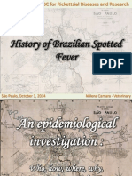 History of Brazilian Spotted Fever