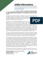 Continúa el plan de capacitación para el personal de las UDI y CEIM de San Fernando.doc