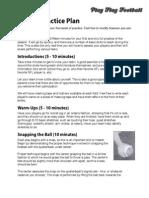 Pee Wee Football Practice Tips