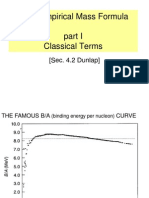 06 Mass Formula Theory I