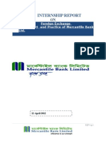 Foreign Exchange Product and Practice of Mercantile Bank(1)