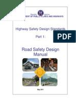 Revised Road Safety Design Manual - June 1, 2011