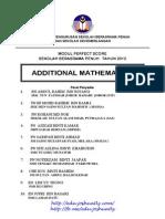 Perfect Score SPM 2012