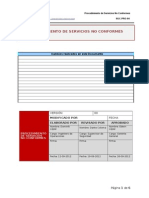 PROCEDIMIENTO DE SERVICIOS NO CONFORMES - 1VO1.doc