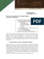 PEREZ RIVERA, Diana. Atribuciòn de competencias de los juzgados indigenas.pdf