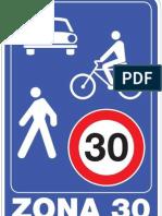 Projektovanje Zone 30 - primer blok 3 - Novi Beograd