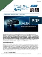 ALEXA PRORES 3.2K POUR L'UHD | Image works.pdf