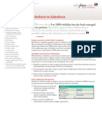Salesforce to Salesforce datasheet