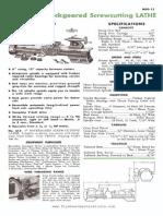 Atlas Lathe Operations Manual