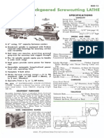 Atlas Lathe Operations Manual