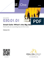 Small Cells Forum 2012-Small Cells White Paper